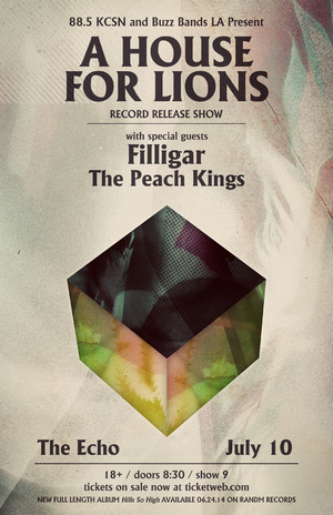 a house for lions LP release show